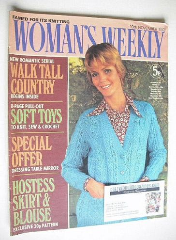 <!--1973-11-10-->Woman's Weekly magazine (10 November 1973)