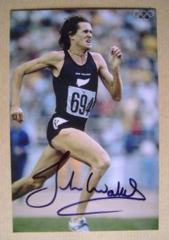 John Walker autograph