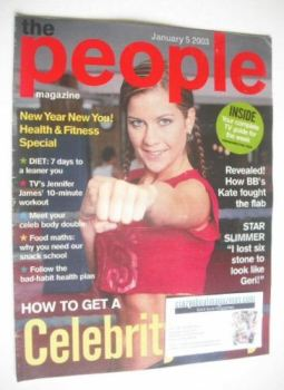The People magazine - 5 January 2003 - Kate Lawler cover