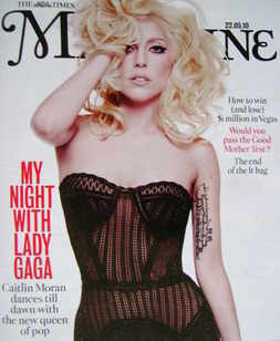 <!--2010-05-22-->The Times magazine - Lady Gaga cover (22 May 2010)