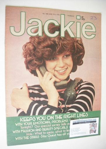 <!--1975-06-21-->Jackie magazine - 21 June 1975 (Issue 598)