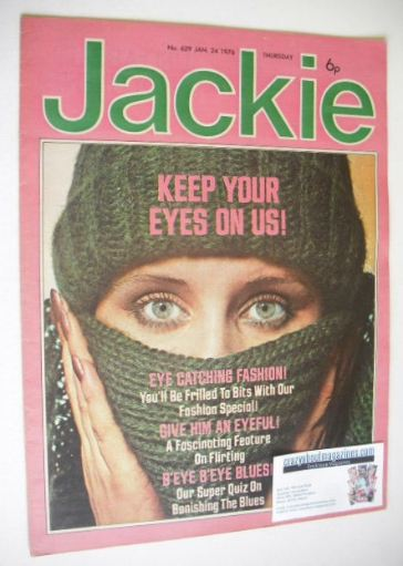 <!--1976-01-24-->Jackie magazine - 24 January 1976 (Issue 629)