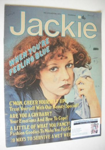 <!--1975-11-08-->Jackie magazine - 8 November 1975 (Issue 618)