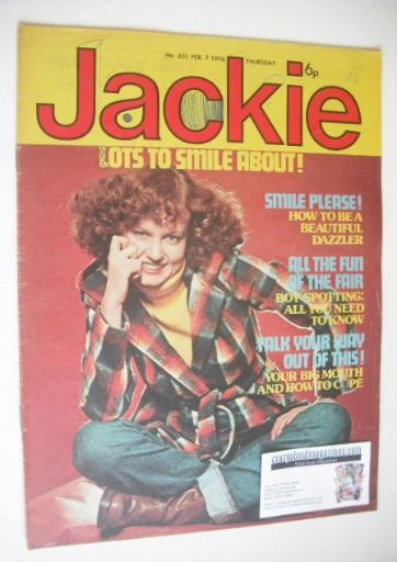 <!--1976-02-07-->Jackie magazine - 7 February 1976 (Issue 631)