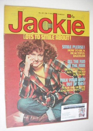 <!--1976-02-07-->Jackie magazine - 7 February 1976 (Issue 631)