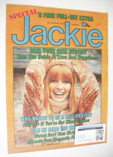 <!--1976-03-06-->Jackie magazine - 6 March 1976 (Issue 635)