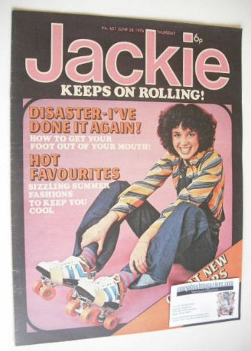 <!--1976-06-26-->Jackie magazine - 26 June 1976 (Issue 651)