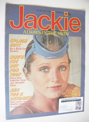 <!--1976-08-07-->Jackie magazine - 7 August 1976 (Issue 657)
