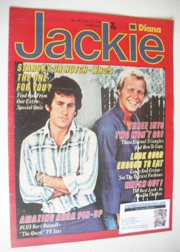 <!--1977-01-22-->Jackie magazine - 22 January 1977 (Issue 681)