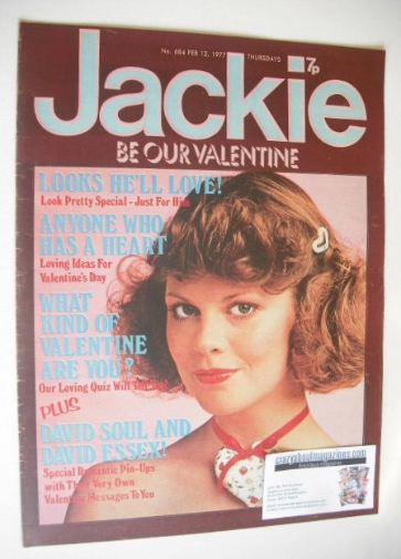 <!--1977-02-12-->Jackie magazine - 12 February 1977 (Issue 684)