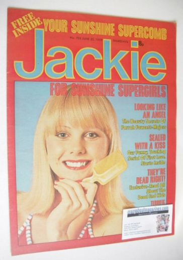 <!--1977-06-25-->Jackie magazine - 25 June 1977 (Issue 703)