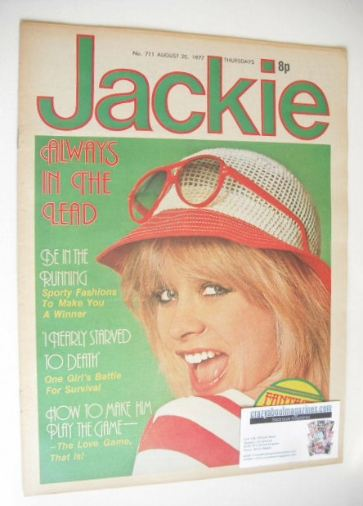 <!--1977-08-20-->Jackie magazine - 20 August 1977 (Issue 711)