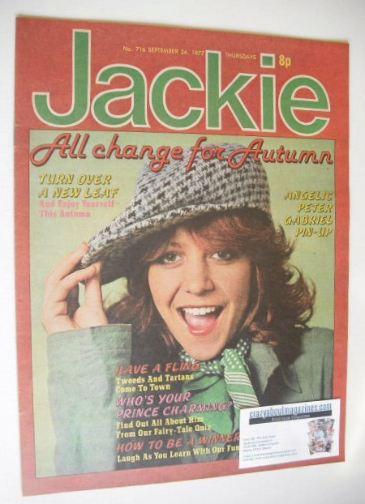 <!--1977-09-24-->Jackie magazine - 24 September 1977 (Issue 716 - Leslie As
