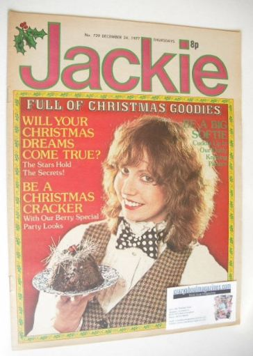 <!--1977-12-24-->Jackie magazine - 24 December 1977 (Issue 729)