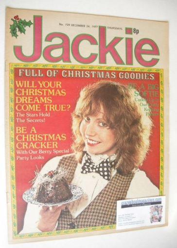<!--1977-12-24-->Jackie magazine - 24 December 1977 (Issue 729)
