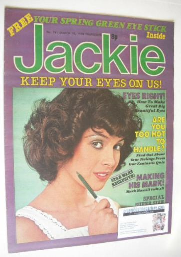 <!--1978-03-18-->Jackie magazine - 18 March 1978 (Issue 741)