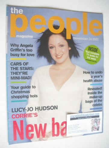 <!--2002-11-24-->The People magazine - 24 November 2002 - Lucy-Jo Hudson co