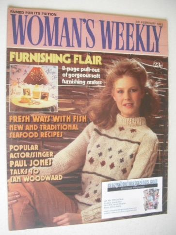 <!--1983-02-05-->Woman's Weekly magazine (5 February 1983 - British Edition