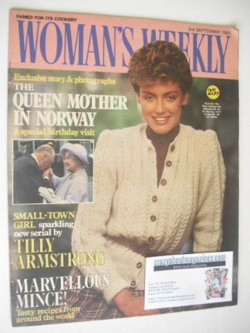 <!--1983-09-03-->Woman's Weekly magazine (3 September 1983 - British Editio