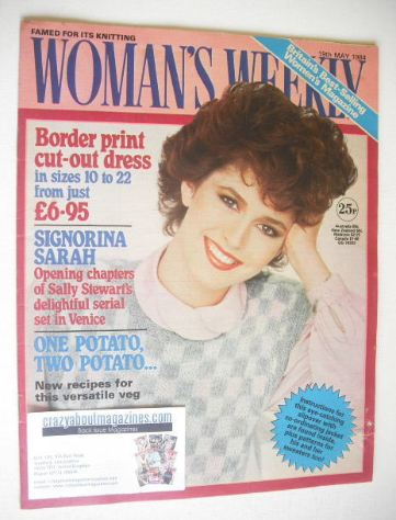 <!--1984-05-19-->British Woman's Weekly magazine (19 May 1984 - British Edi