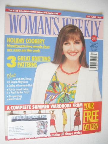 <!--1989-06-06-->Woman's Weekly magazine (6 June 1989 - British Edition)
