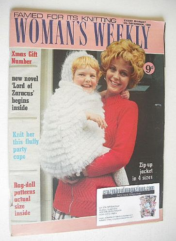 <!--1969-12-06-->Woman's Weekly magazine (6 December 1969)