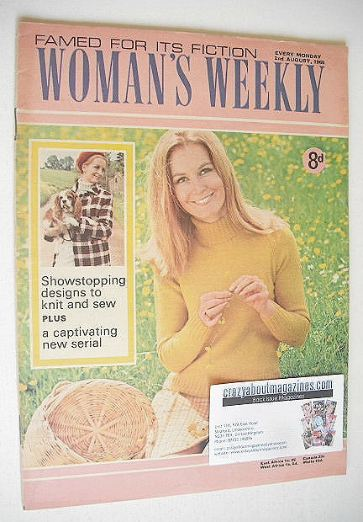 <!--1969-08-02-->Woman's Weekly magazine (2 August 1969)