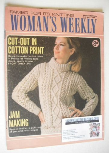 <!--1969-05-31-->Woman's Weekly magazine (31 May 1969)