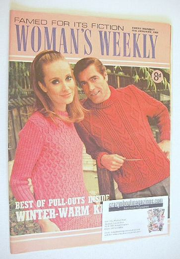 <!--1969-01-11-->Woman's Weekly magazine (11 January 1969)