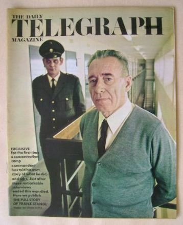 <!--1971-10-08-->The Daily Telegraph magazine - Franz Stangl cover (8 Octob