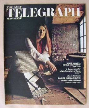 The Daily Telegraph magazine - Linda Mallett cover (27 August 1971)