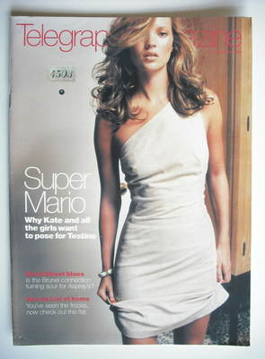 <!--1998-09-12-->Telegraph magazine - Kate Moss cover (12 September 1998)