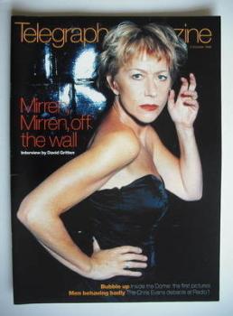Telegraph magazine - Helen Mirren cover (3 October 1998)