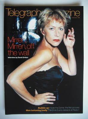 <!--1998-10-03-->Telegraph magazine - Helen Mirren cover (3 October 1998)