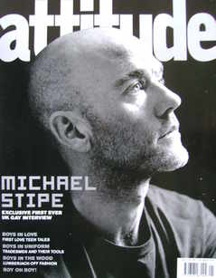 <!--2004-01-->Attitude magazine - Michael Stipe cover (January 2004)