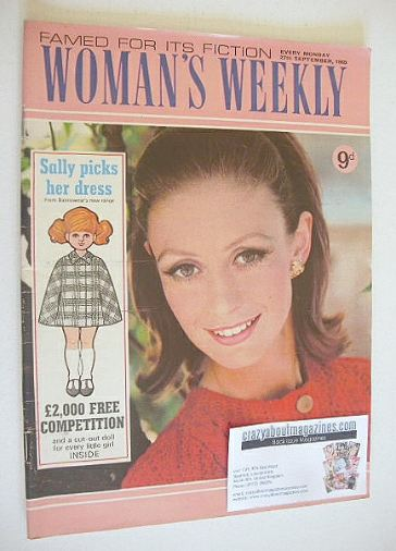 <!--1969-09-27-->Woman's Weekly magazine (27 September 1969)
