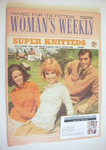<!--1969-03-01-->Woman's Weekly magazine (1 March 1969)