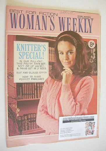 <!--1969-02-22-->Woman's Weekly magazine (22 February 1969)
