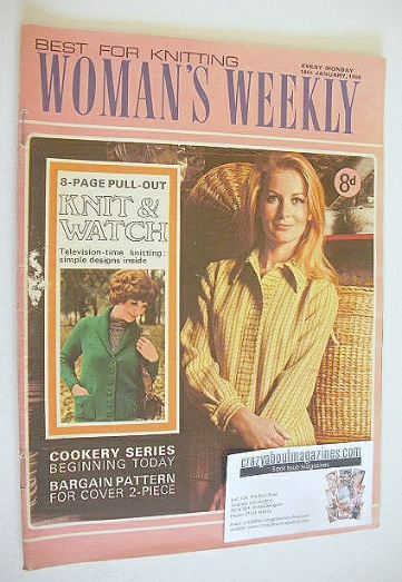 <!--1969-01-18-->Woman's Weekly magazine (18 January 1969)