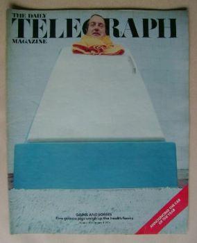 The Daily Telegraph magazine - Health Farm cover (4 January 1974)