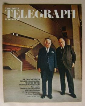 The Daily Telegraph magazine - Sir Isaac Wolfson and Lord Rosenheim cover (7 April 1972)