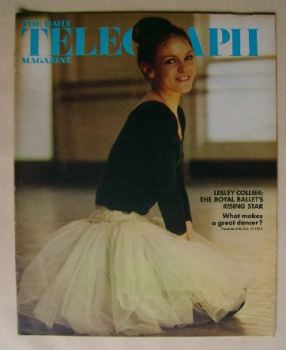 The Daily Telegraph magazine - Lesley Collier cover (27 July 1973)
