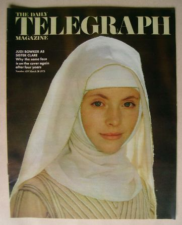 <!--1973-03-30-->The Daily Telegraph magazine - Judi Bowker cover (30 March