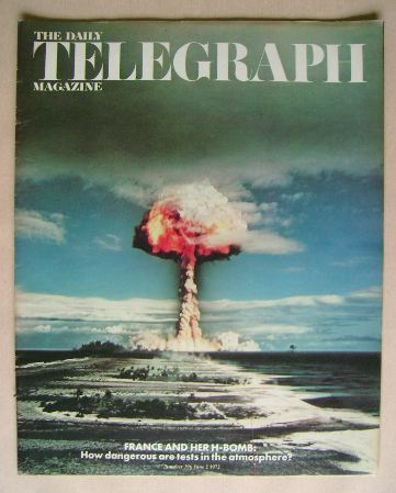 <!--1972-06-02-->The Daily Telegraph magazine - 2 June 1972