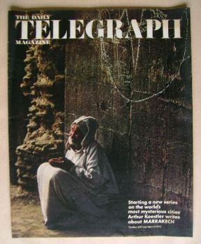 The Daily Telegraph magazine - Marrakech cover (8 September 1972)