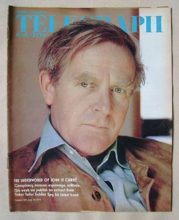 <!--1974-06-28-->The Daily Telegraph magazine - John Le Carre cover (28 Jun