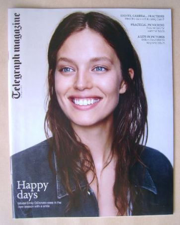 <!--2015-08-22-->Telegraph magazine - Emily DiDonato cover (22 August 2015)