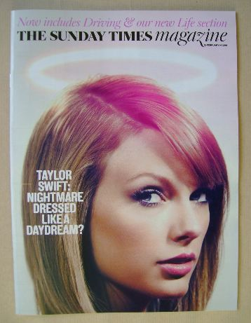 <!--2016-02-14-->The Sunday Times magazine - Taylor Swift cover (14 Februar