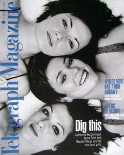 <!--1998-08-08-->Telegraph magazine - Catherine McCormack, Anna Friel and R