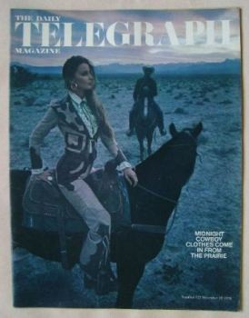 The Daily Telegraph magazine - Fashion cover (18 December 1970)